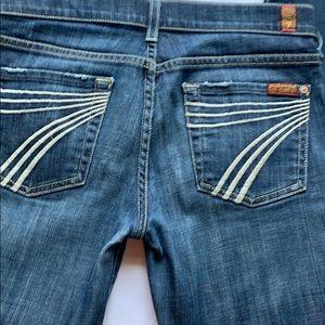 7 For all Mankind jeans Dojo